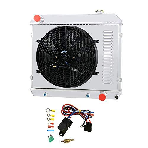 - OzCoolingParts Pro 4 Row Core Aluminum Radiator + 16