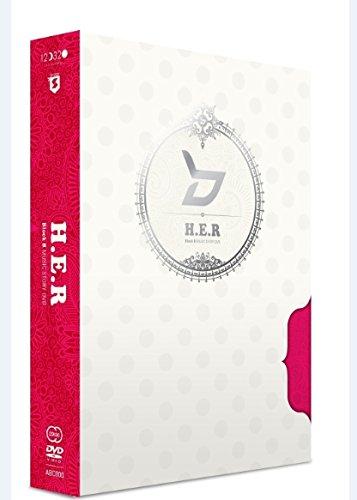 Block B - HER Music Story (2DVDs + Photobook) (Korea Version)[+an official folded poster][+an extra Block B autograph photo][+an extra Block B postcard(10cmx15cm)][+an extra Block B sticker]
