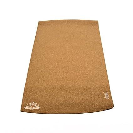 Amazon.com : JURU Shakti Cork Yoga Mat (with Organic Cotton ...