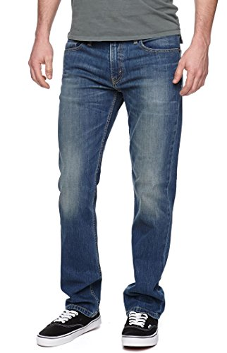 Levi's Men's 511 Slim Fit Jean Throttle – Stretch (34W x 38L, Throttle – Stretch)