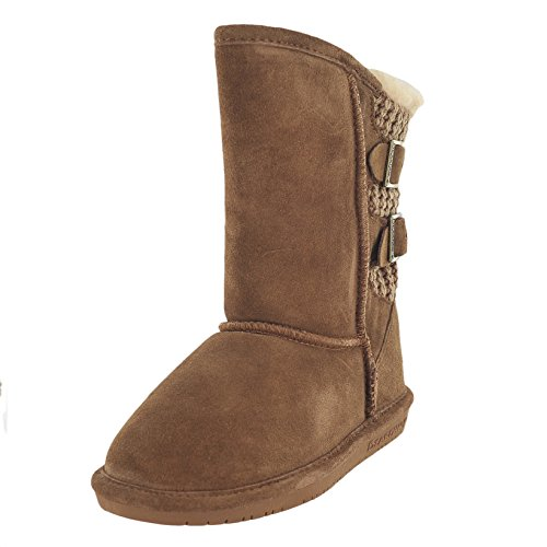 Bearpaw Boshie Hickory Unisex Kids Winter Boot Size 2M