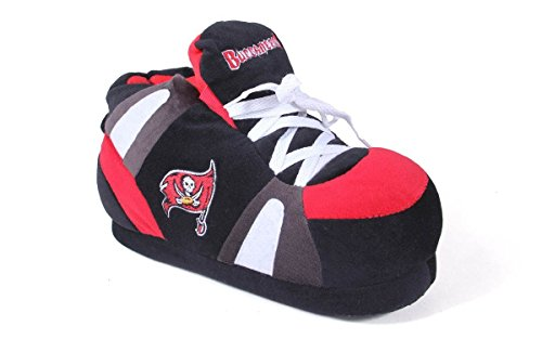 TMB01-5 - Tampa Bay Buccaneers - 2XL - Happy Feet & Comfy Feet NFL Slippers