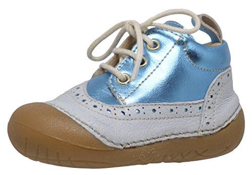 Ocra 335V Lauflernschuhe Baby-Unisex Blau-Weiß (11761 cervino sky)