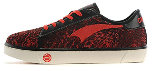 Onemix Hombres Autumn & Winter Casual Fashion Sneakers Red