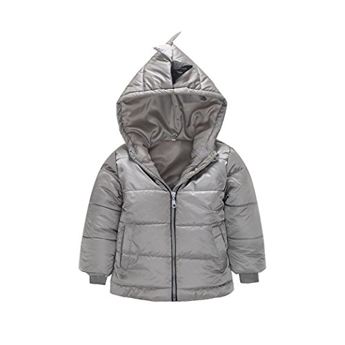 Coat Outerwear Coat Down Padded Clothes Gray Cute Coats DaySeventh Boys' Jacket qYw4EE