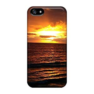 Ifans Hbx1436uSxf Protective Case For Iphone 5/5S Cover (amazing Sunset)