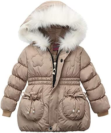 110, Black Ts99-kWm/_Baby Coat Children Kids Boys Girl Winter Coats Jacket Zip Thick Warm Snow Hoodie Outwear