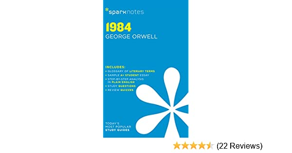 Amazon com: 1984 SparkNotes Literature Guide (SparkNotes