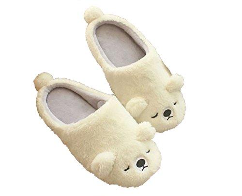 Plush Seal Polar Womens T Bear Slippers Room Fleece On Polar Shoes Slip TOKYO Animal Bear qzIwcFCOw