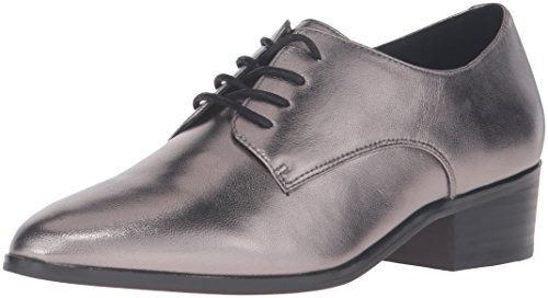 Dune London Mujeres Loris Tuxedo Loafer Peltre Metálico