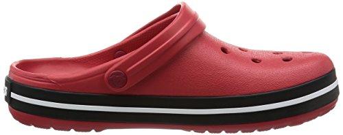 Crocs Unisex Adult Crocband Clogs Red (Pepper/Black) hTmeQd