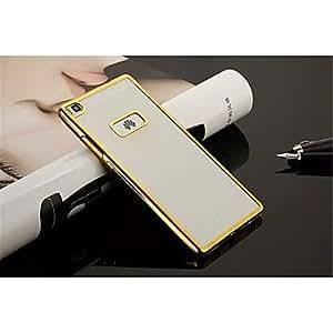 TPU + caso color mezclado marco chapado para Huawei p8 / p8 Lite / compañera 7 ( Color : Oro , Modelos Compatibles : Compañero 7 )