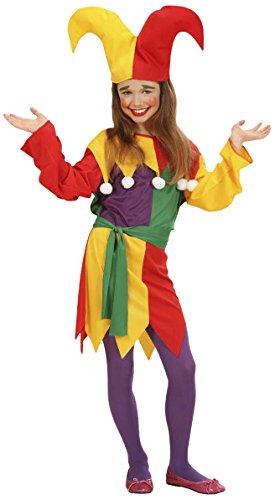 Jolly Clown Costumes (Jolly Jester (158cm) (dress Belt Hat))