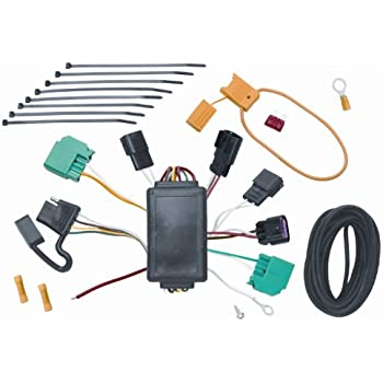Enjoyable Amazon Com Vehicle To Trailer Wiring Harness Connector For 07 Dodge Wiring 101 Capemaxxcnl