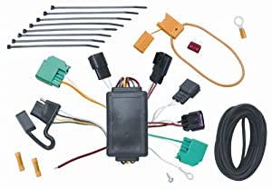 amazon com vehicle to trailer wiring harness connector for 09 vehicle to trailer wiring harness connector for 09 dodge journey plug play