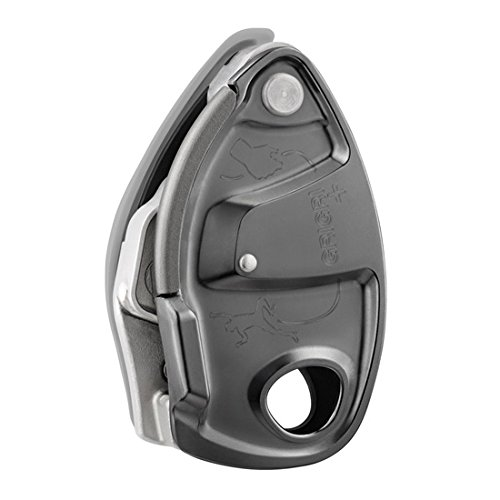 Image of Belay & Rappel Equipment PETZL - GRIGRI +, Belay Device with Assisted Braking, Gray
