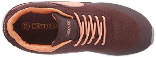 Darkred Sneakers Rot Coral Damen Kappa 2529 Milla 7wzUFU