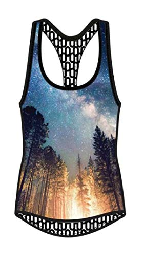 Clothing : Womens Shebeest - SHEBEEST Indie Tank Top - Women's Summer Nights Multi, M