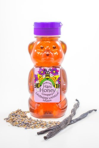 (Lavender Vanilla Honey 12oz Bear)