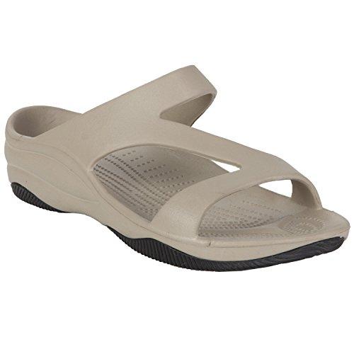 Dawgs Kvinners Premium Z Sandaler Tan / Svart
