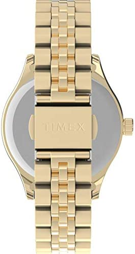 Timex Women's Waterbury Neon 34mm Quartz Stainless Steel Strap, Rose Gold, 16 Casual Watch (Model: TW2U23200)