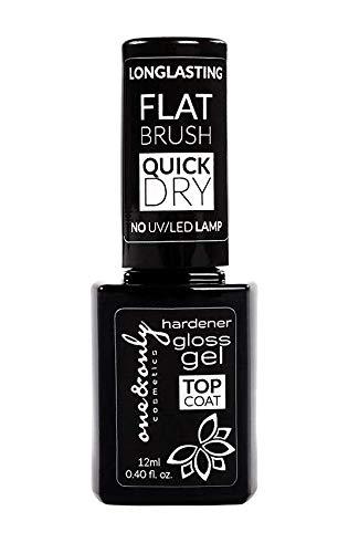 One&Only Cosmetics Gel Top Coat 12 ml, Smalto Top Coat per Donne, Manicure, Sigillante della superficie delle unghie, protezione dai graffi, senza utilizzo di lampade UV/LED, facile applicazione.