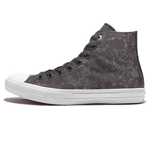 Converse Chuck Taylor II All Star Hi Top Sneaker Reflective Grey (11 D(M) US)