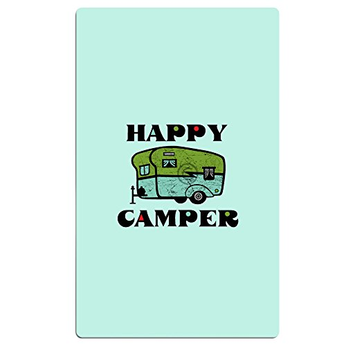 Happy Camper Graphic Flicker Beach Towel Travel Towels Pool Towel