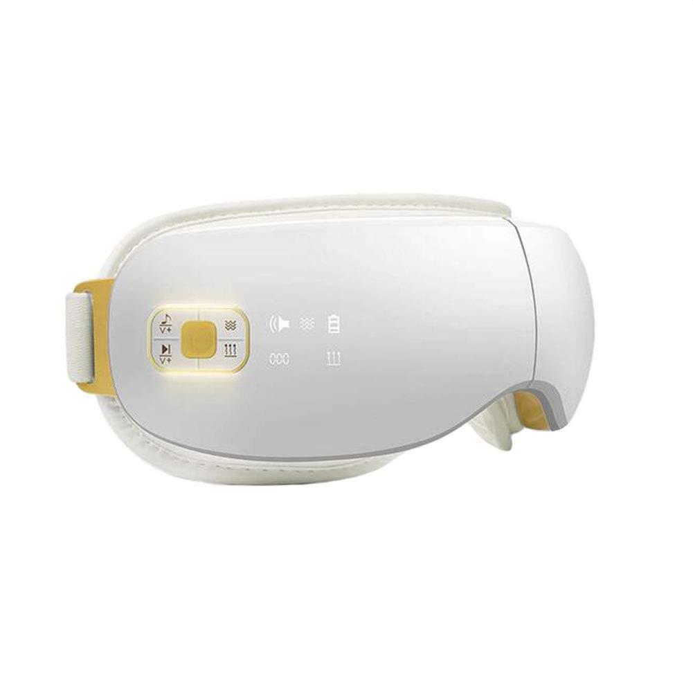 Nanle アイマッサージアイマスクヒーター、近視の改善のためのバイブレーションメガネ、折りたたみ式USB充電式音楽アイプロテクター、空気圧マッサージ B07JVJSWD9