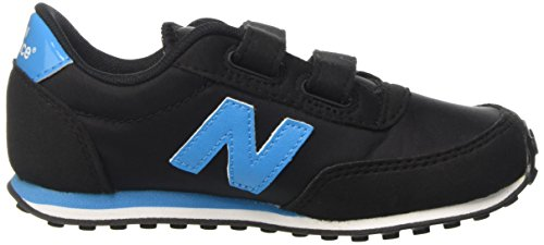 New Balance KE410BTY M Hook and Loop, Zapatillas Unisex para Niños Multicolor (Black/Blue)