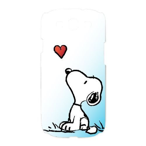 Samsung Galaxy S3 Cell Phone Case White snoopy green exquisite Anime image AIO8060314 (Samsung Galaxy S3 Cases Snoopy)
