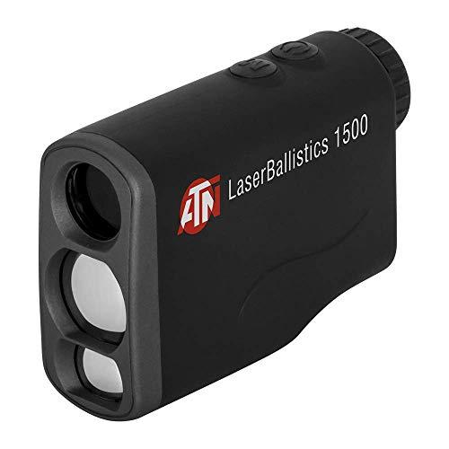 theOpticGuru ATN Telémetro láser con Bluetooth, calculadora balística y aplicación de soluciones de disparo (1500 m)