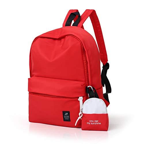 Con Da Red Accessoriata Igspfbjn Per color Borsa Super Red Leggera Viaggio xUOBIqw