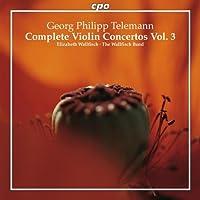 Telemann: Concerti Per Violino - Vol.3