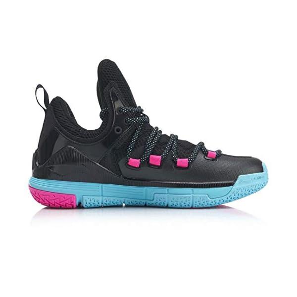 LI-NING Men Wade The Sixth Professional Basketball Shoes Lining Breathable Anti-Slip Athletic Shoes ABAN023 ABAP017