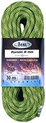 BEAL Cuerda Rando 8 mm x 20 m, naranja: Amazon.es: Deportes y ...