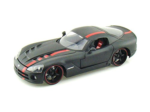2008 Dodge Viper SRT10 Collector's Club L/E 1/24 Black w/Red Stripes