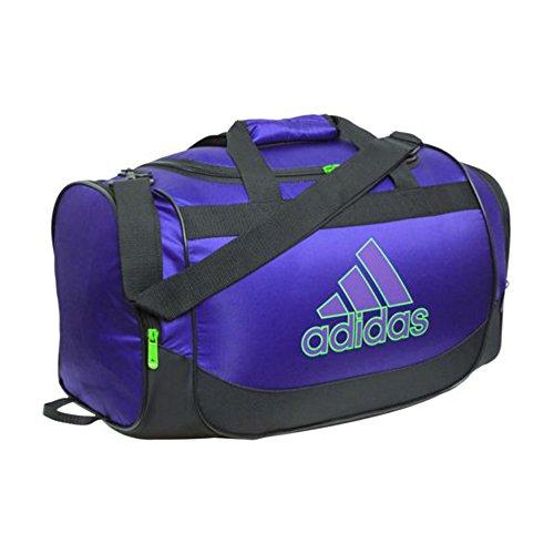 Adidas Defender Duffel Bag Purple/Green/Black (S)