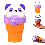 Kariwell Squishy Toys - Panda Squish Ice Cream Squishies Slow Rising - Cream Squeeze Scented Reliever Stress Toy Adorable Toys (Multicolor❤️)