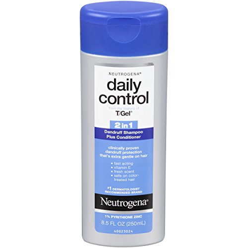 Neutrogena T/Gel Daily Control 2-In-1 Dandruff Shampoo Plus Conditioner, 8.5 Fl. - Dandruff 1 2in Shampoo