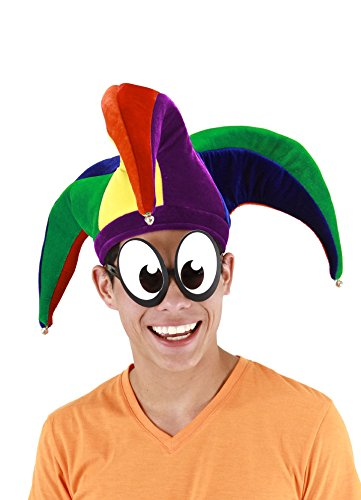elope Court Jester Hat, Multi, One -