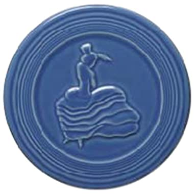 Fiesta Trivet, 6-Inch, Lapis by Homer Laughlin