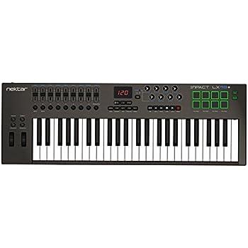 Amazon.com: Roland 49-key MIDI Keyboard Controller, black (A ...