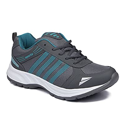ASIAN Men's Wonder-13 Firozi Mesh Sports Running Shoes UK-6 Green