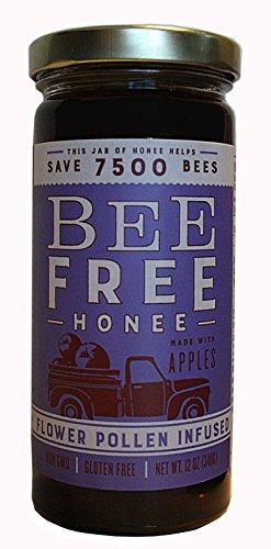 Bee Free Honee Flower Pollen Infused (Plant Based/Vegan) Vegan Honey