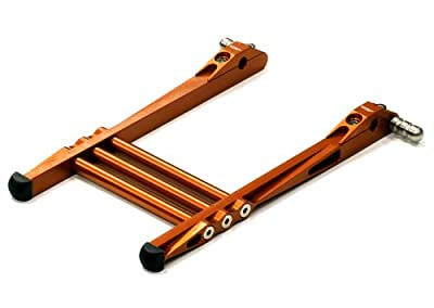Integy RC Hobby C24373ORANGE Universal Billet Machined TX Stand Attachment for Most Stick Type Radio