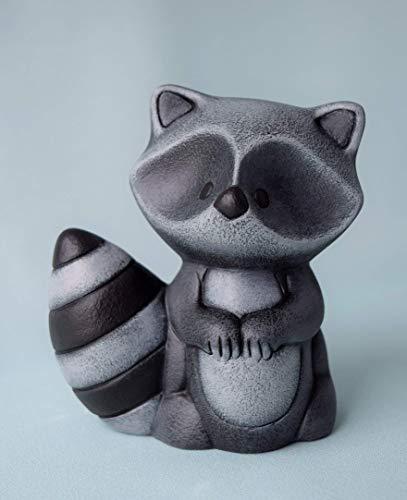 Cute Ceramic Raccoon Figurine