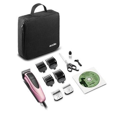 - Andis Easyclip Versa Interchangeable Blade Clipper Kit-Pink