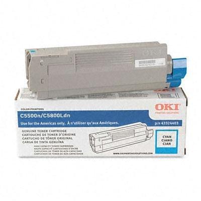 OKI43324403-43324403 High-Yield Toner Type C8 43324403 High Yield Toner