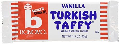 Bonomo Turkish Taffy Bar (Bonomos Turkish Taffy - Vanilla 24ct.)